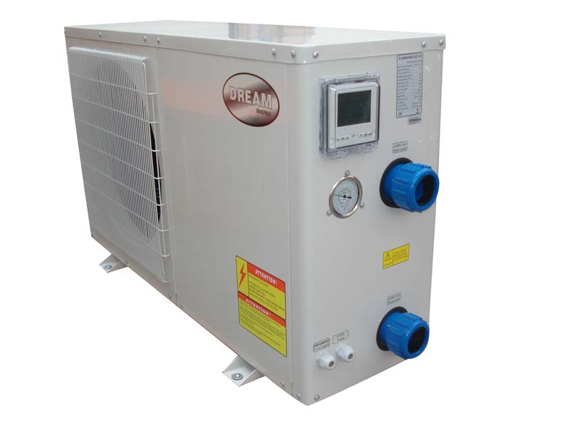 Dream air source heat pump for koi ponds and for Koi pool heaters